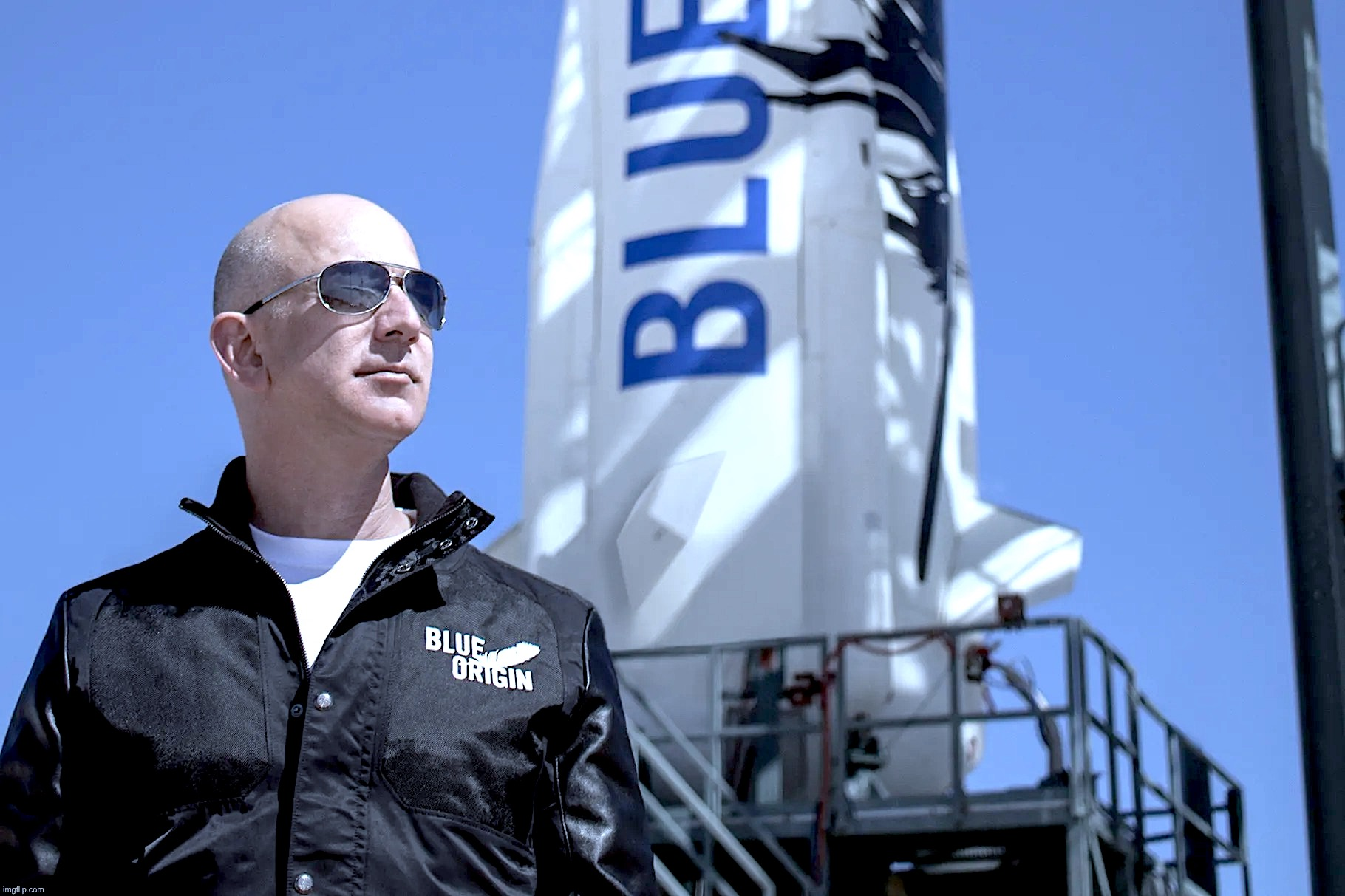 Jeff Bezos s'envolera pour l'espace le mois prochain