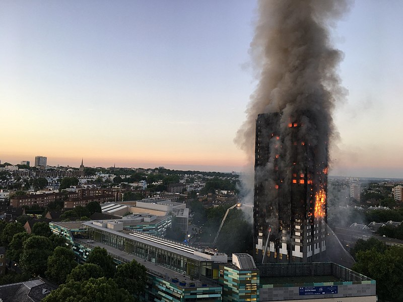 Grenfell Tower Londres incendie