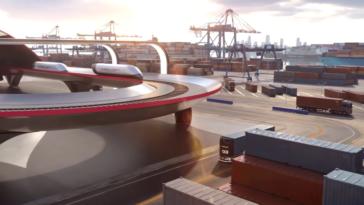 HyperloopTT HyperPort transport fret 2