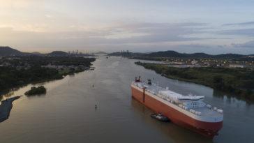 navire cargo canal panama