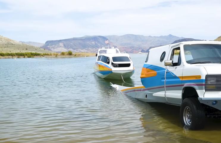 Boaterhome bateau camion van