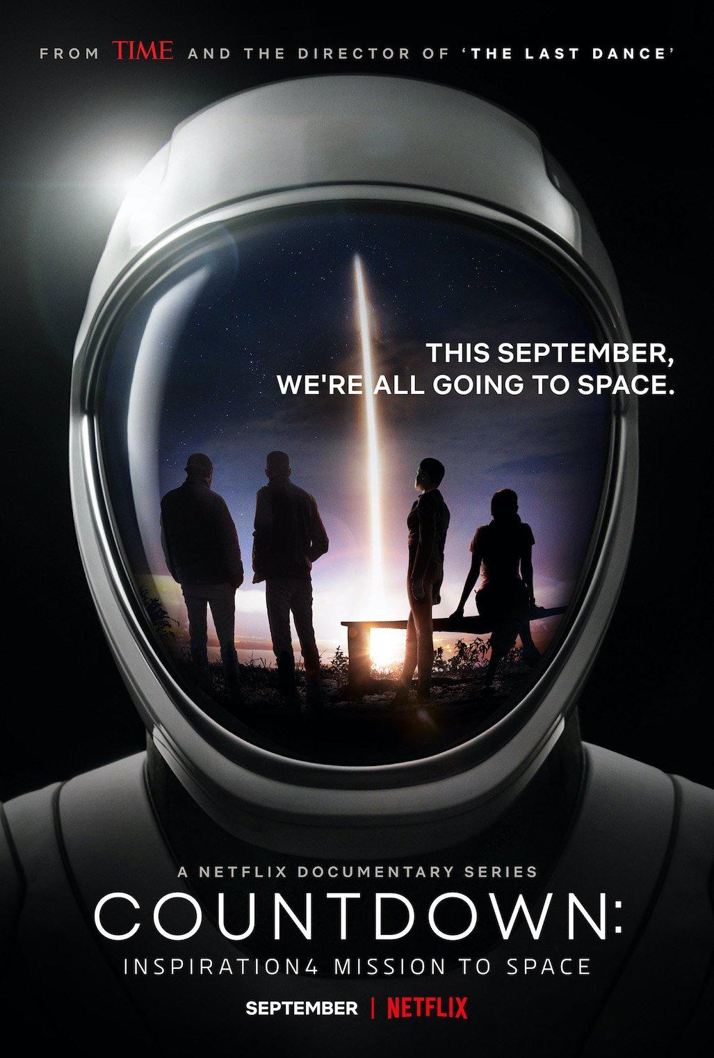 affiche mission spaceX Netflix