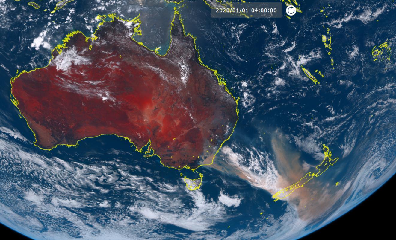 Quand les incendies australiens provoquent d'énormes blooms planctoniques